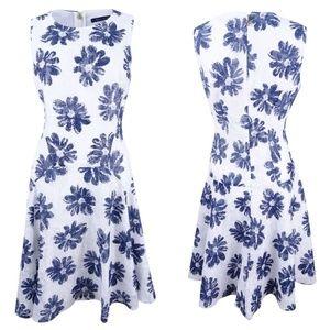 {8} NWT Tommy Hilfiger Floral Lace Sheath Dress